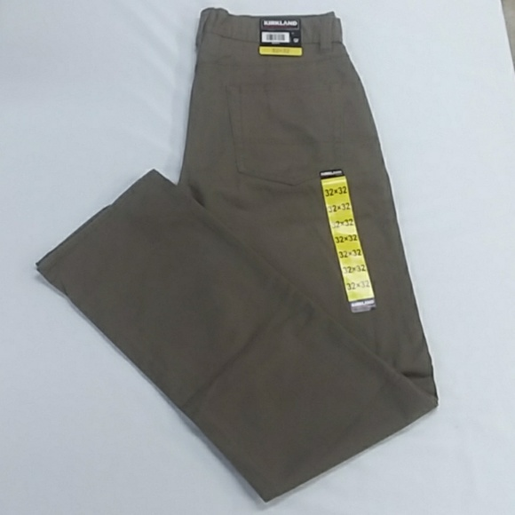 633c1c47a1cd Kirkland Signature Men s Brushed Cotton Pants
